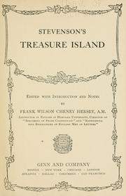 Cover of: Stevenson's Treasure Island | Robert Louis Stevenson