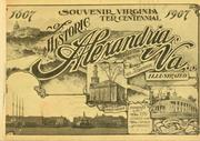 Souvenir Virginia ter centennial of historic Alexandria, Va.