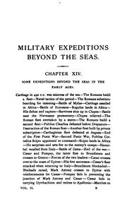 Cover of: Military expeditions beyond the seas