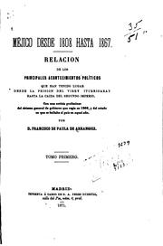 Cover of: Méjico desde 1808 hasta 1867