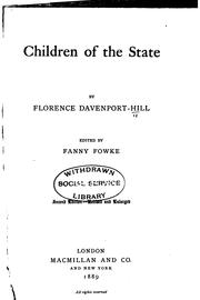Cover of: Children of the state