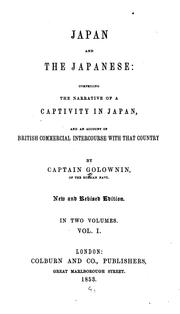 Cover of: Japan and the Japanese