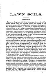 Cover of: Lawn soils