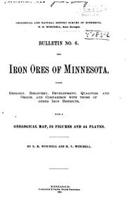 Cover of: The iron ores of Minnesota