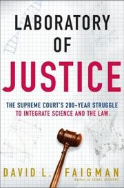 Cover of: Laboratory of Justice