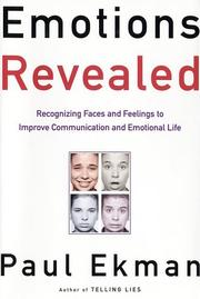 Cover of: Emotions Revealed by Paul Ekman