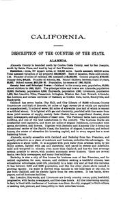Cover of: Resources of California