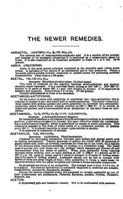 Cover of: The newer remedies ..