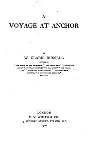 Cover of: A voyage at anchor