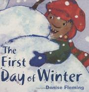 Cover of: The first day of winter