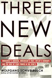 Cover of: Three New Deals