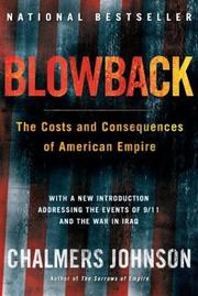Cover of: Blowback