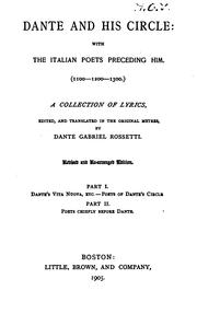 Cover of: The Early Italian poets