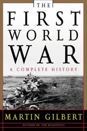 Cover of: The First World War, Second Edition | Martin Gilbert