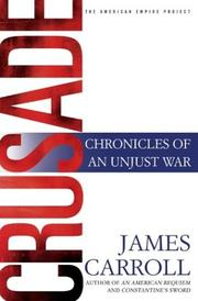 Cover of: Crusade | James Carroll