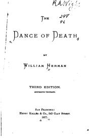 Cover of: The dance of death | Ambrose Bierce