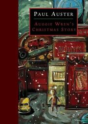 Cover of: Auggie Wren's Christmas Story