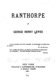 Cover of: Ranthorpe