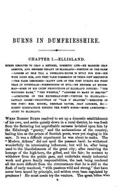 Cover of: Burns in Dumfriesshire | William M