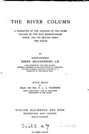 Cover of: The River Column