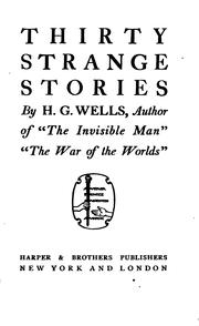 Cover of: Thirty strange stories