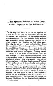 Cover of: Die Sprachverschiedenheit in Europa