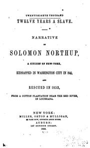 Cover of: Twelve years a slave. by Solomon Northup