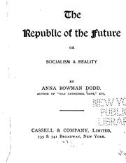Cover of: The republic of the future