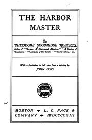 Cover of: The harbor master