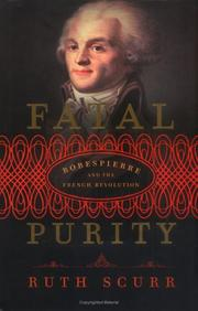 Cover of: Fatal purity | Ruth Scurr