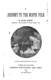 Cover of: A journey to the North Pole. | Jules Verne