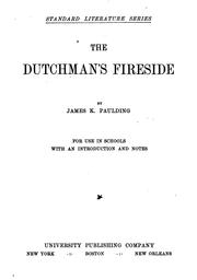 Cover of: The Dutchman's fireside