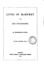 Cover of: Lives of Mahomet and his successors