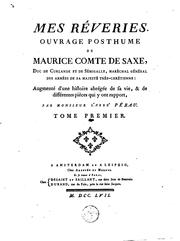 Cover of: Mes rêveries