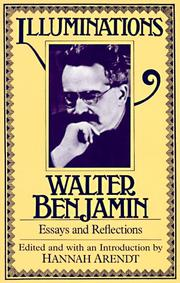 Illuminationen by Walter Benjamin