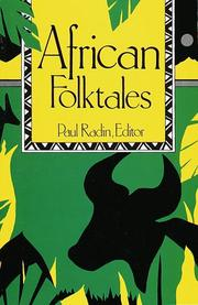Cover of: African Folktales | Paul Radin