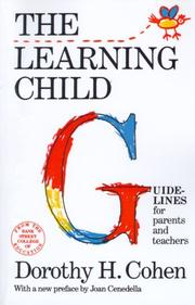 Cover of: The learning child