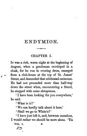 Cover of: Endymion