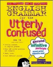 Cover of: English grammar for the utterly confused