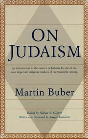 Cover of: On Judaism