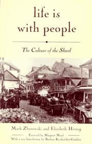 Cover of: Life is with people