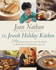 Cover of: The Jewish holiday kitchen | Joan Nathan