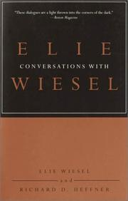 Cover of: Conversations with Elie Wiesel