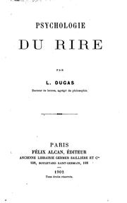 Cover of: Psychologie du rire