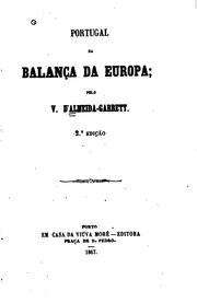 Cover of: Portugal na balança da Europa
