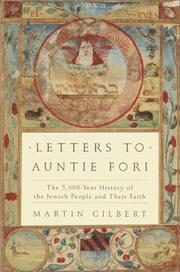 Cover of: Letters to Auntie Fori: The 5,000-Year History of the Jewish People and Their Faith