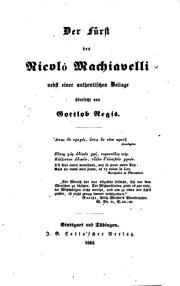 Machiavelli, More, Luther by Charles W. Eliott, Niccolò Machiavelli, Martin Luther, Thomas More