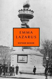 Cover of: Emma Lazarus (Jewish Encounters)