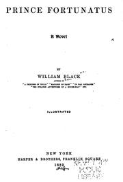 Cover of: Prince Fortunatus by Black, William