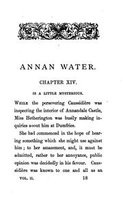 Cover of: Annan Water
